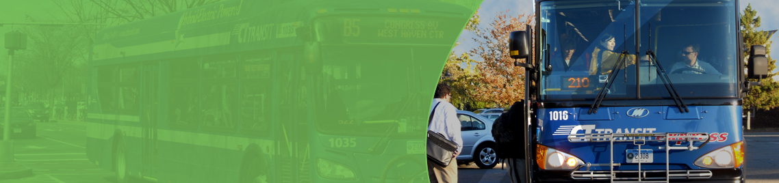 Commuter shuttle page banner