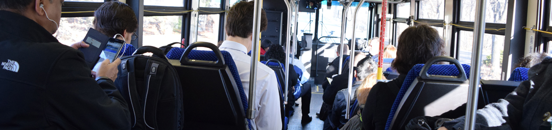 How to Ride CTtransit page banner