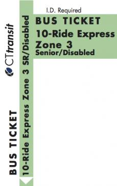 10-Ride Express Tickets for Reduced Fare Customers